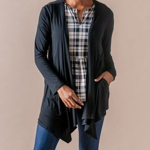 NWT-HAS POCKETS! Agnes & Dora Waterfall Cardigan